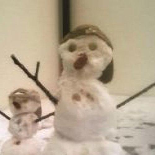 Unsere Schneefrauen