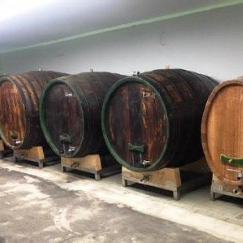 Holzfässer restauriert