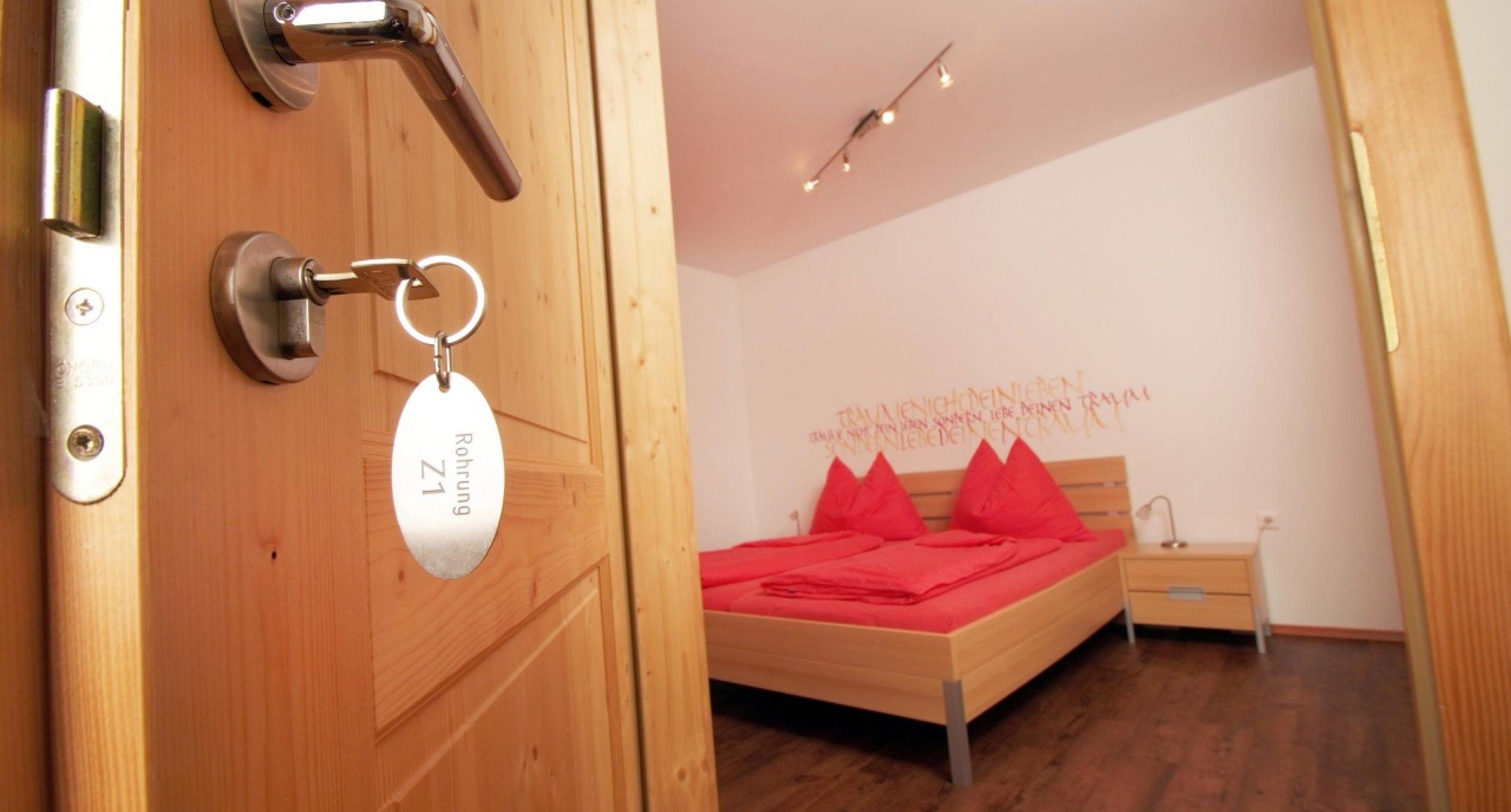 Ferienwohnung Rohrung - Schlafzimmer 1